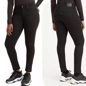 NEW Levi's 311 Shaping Skinny Jeans Black 24 x 30